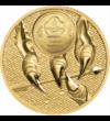 Fenséges sasmadár, 1000 tugrik, arany, Mongólia, 2020