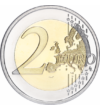 A foci EB hivatalos eurós emlékpénze, 2 euró, Franciaország, 2016
