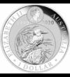 30 éves a Kookaburra, 1 dollár, ezüst, Ausztrália, 2020