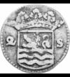 A halhatatlan stuiver, 2 stuiver, ezüst, Hollandia, 1701-1793