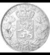 A király, akinek három koronát ajánlottak, 5 frank, ezüst, Belgium, 1849-1865