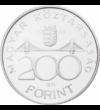 200 Ft  Deák Ferenc  ezüst (vf.) Magyar Köztársaság