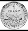 A francia szabadság , 1 frank, Franciaország, 1960-2001