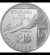 Anton Bernolák, pap, író, nyelvész, 10 euró, ezüst, Szlovákia, 2012