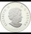 Hull a pelyhes …, 10 dollár, ezüst, Kanada, 2014
