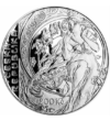 200 korona  A. Mucha  ezüst  2010pp Cseh Köztársaság