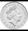 50 éves a Queen együttes, 5 font, Nagy-Britannia, 2020