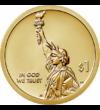 Amerikai újítók - Bevezető érme, 1 dollár, USA, 2018