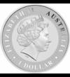 1 unciás ezüst kenguru, 1 dollár, ezüst, Ausztrália