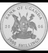 2000 shilling  Leopárd  2006 Uganda