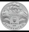 10 euró  Memorandum  ezüst  bu  2011 Szlovákia
