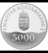 Pekingi Olimpia, 5000 Ft, ezüst, Magyar Köztársaság, 2008