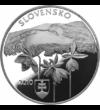 20 euro  NP Poloniny  Ag  2010  pp Szlovákia