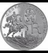 II. Rudolf király, 200 korona, ezüst, Csehország, 2012