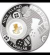 Kéményseprő, 1 dollár, 999-e ezüst, 2014, Niue