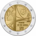 Április 25. híd // Lisszabon főváros ikonikus hídja, Portugália, 2016