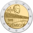 Charlotte híd // Luxemburg főváros összekötő hídja, Luxemburg, 2016