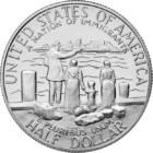 Bevándorlók, 1/2 dollár, USA, 1986