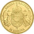 100 éves aranytartalék, 10 korona, arany, Osztrák–Magyar Monarchia, 1892-1915