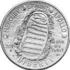 50 éve járt először ember a Holdon, 1/2 USD, USA, 2019