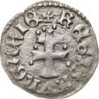 Nagy Lajos különleges denárja, denár, ezüst, Magyar Királyság, 1342-1382