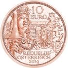 A lovagiasság eszménye, 10 EUR, Ausztria, 2019