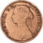 Uralkodj Britannia!, 1 farthing, Nagy-Britannia, 1860-1873