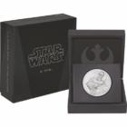 Star wars C-3PO, 2 dollár, 999-es ezüst, Niue, 2017 - díszcsomagolásban