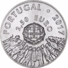 Caretói maszkok – A portugál busójárás, 2,5 euró, 2017, Portugália