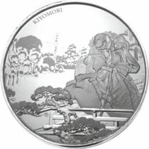 // 1 dollár, 999-es ezüst, Fidzsi-szigetek, 2018 // - Új gyűjtemény Fiji-ről. A japán nemes harcosokat bemutató gyűjtemény első darabja Taira no Kiyomorinak állít emléket, aki a legelső szamurájok vezette kormány feje volt a XII. században. A színezüst ér