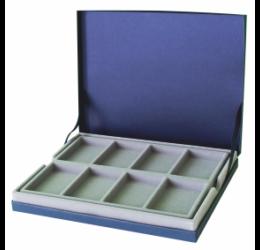 IPRACTIC Tárolókazetta 8 rekeszes doboz, kék