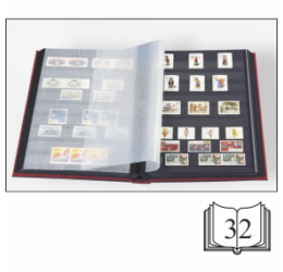 Bélyegalbum 32 oldalas