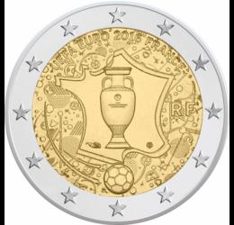 2 euró, UEFA Football EB 2016 Franciaország