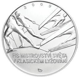 Téli sportok ünnepe, 200 korona, ezüst, Csehország, 2009