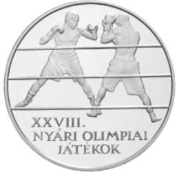 Olimpia ezüstön, 5000 forint, ezüst, Magyar Köztársaság, 2004