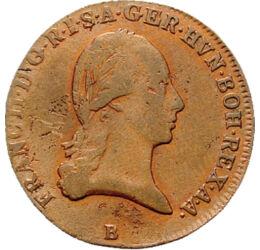 // 3 krajcár, Habsburg Birodalom, 1799-1803 // - Az egyik leghosszabb ideig uralkodó magyar király I. Napóleonhoz adta lányát, Mária-Lujzát. Kezdetben szövetségese volt, majd veje ellen fordult. Mikor Napóleon meghódította a Német-Római Birodalom jelentős