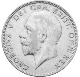 // 1 florin, 500-as ezüst, Nagy-Britannia, 1927-1936 // - Nagy-Britannia országai a brit szigeten Anglia, Skócia, Wales és Írország. Ezen a birodalmi ezüstérmén a négy ország címere keresztet formáz, ahogy a négy ország jogar is. Olyan, mint egy háromszáz
