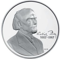 Kodály Zoltán emlékére, 5000 forint, ezüst, Magyar Köztársaság, 2007