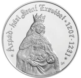 Árpád-házi Szent Erzsébet , 5000 forint, ezüst, Magyar Köztársaság, 2007
