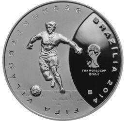 Futball az egész világ , 3000 forint, ezüst, Magyarország, 2013