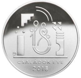 Családok éve – játék az egész világ, 10000 forint, ezüst, Magyarország, 2018