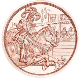 A lovagiasság eszménye, 10 euró, Ausztria, 2019