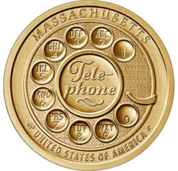 1 dollár,Amerikai újít-Telefon,2020 USA
