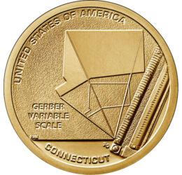 Amerikai újítók - Gerber forradalmi skálája, 1 dollár, USA, 2020
