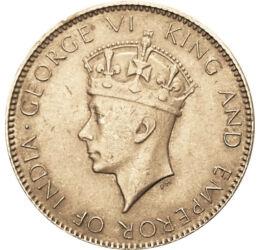 // 1 cent, Ceylon, 1937-1942 // - Ceylont, mai nevén Sri Lanka-t 1802-ben brit koronagyarmatnak nyílvánították. Érméit a mindenkori brit uralkodó portréja díszítette. 1948-ban elnyerte függetlenségét, ugyanakkor belépett a Brit Nemzetközösségbe. 1972-ben