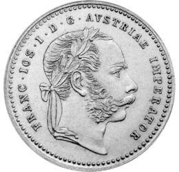 // 10 krajcár, 400-as ezüst, Osztrák-Magyar Monarchia, 1868-1872 // - 1867-ben Ferenc Józsefet magyar királlyá koronázták, és létrejött a Kiegyezés. Az ezt követő korszak a Monarchia és Magyarország technikai és gazdasági fellendülését hozta. E kor emléké