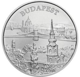 Világörökség Budapesten, 5000 HUF, ezüst, Magyar Köztársaság, 2009