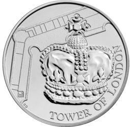 Egy birodalom koronaékszerei, 5 GBP, Nagy-Britannia, 2019
