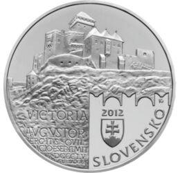Csák Máté ezüstje, 20 EUR, ezüst, Szlovákia, 2012