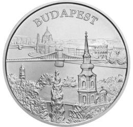 5000 Ft, Budapest, ezüst, vf, 2009 Magyar Köztársaság